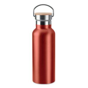 botella termo madera