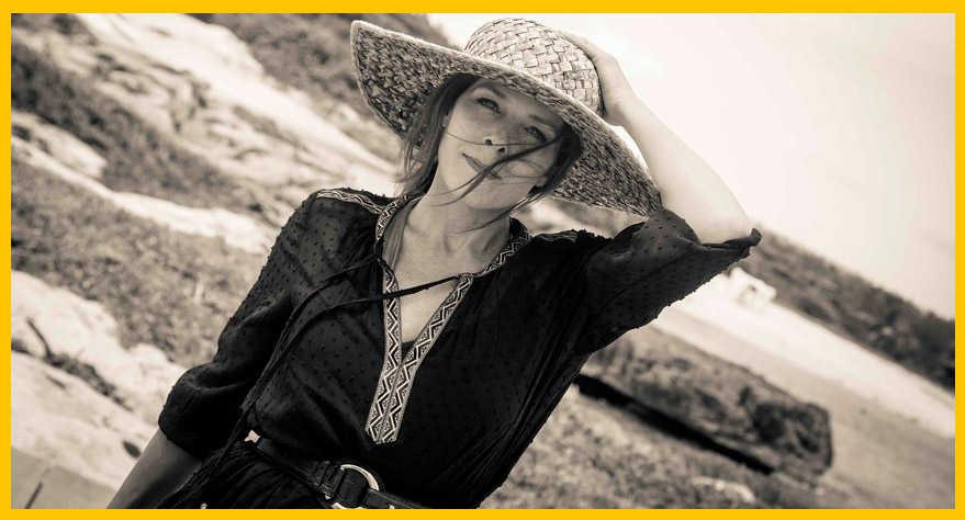 Sombrero de paja: provenzal