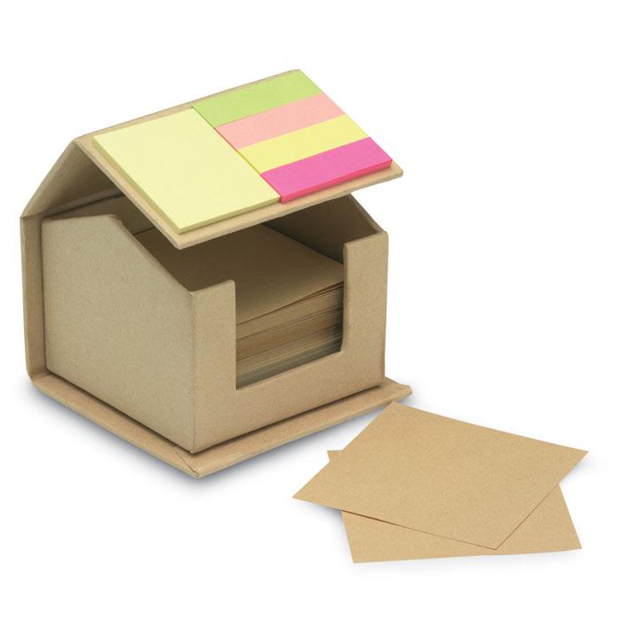 notas-adhesivas-forma-casa