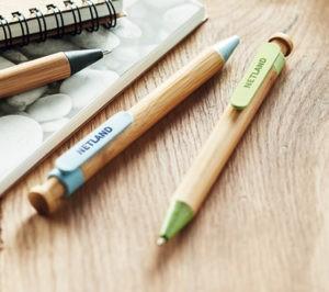 Bolígrafos ecologicos reciclados personalizados