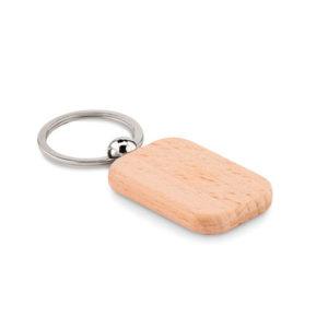 llavero personalizado madera