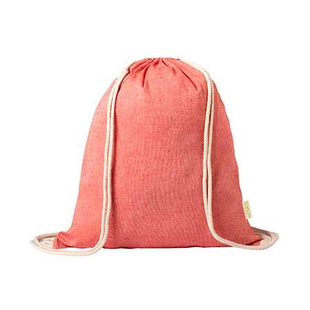 mochila cuerdas algodón reciclado