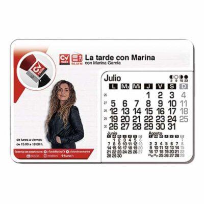 alfombrillas calendarios personalizados