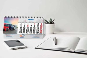 calendarios de sobremesa personalizados