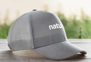 gorras ecológicas bordadas