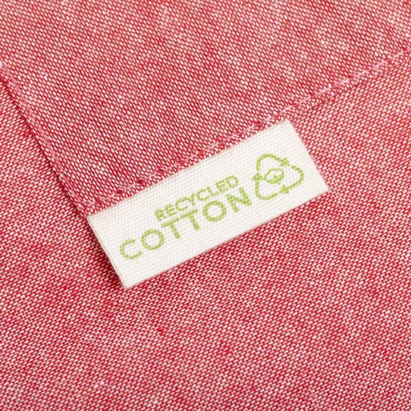 delantal personalizado algodón reciclado